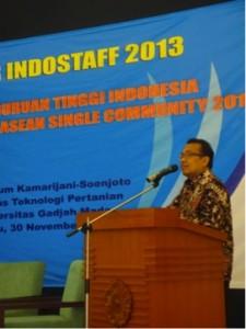 Opening Remark oleh Prof. Dr. Pratikno M.Sc. (Rektor UGM)